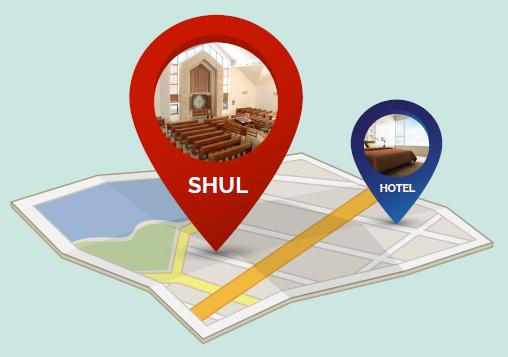 Hotels Near Shuls and Kosher Hotels